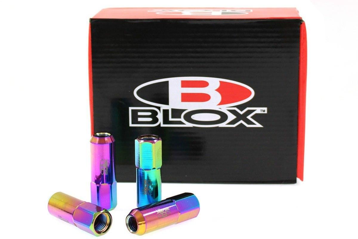Nakrętki Blox Replica 60mm M12x1.5 Neo - GRUBYGARAGE - Sklep Tuningowy